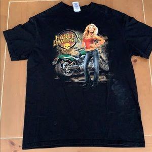 Harley-Davidson Wichita Kansas Short Sleeve Shirt
